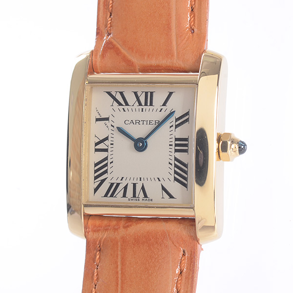 カルティエ Cartier タンクフランセーズSM W5000256 中古A品