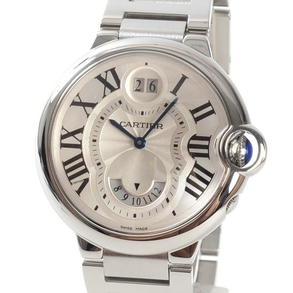 カルティエ Cartier バロンブルー 2タイムゾーン W6920011 中古A品