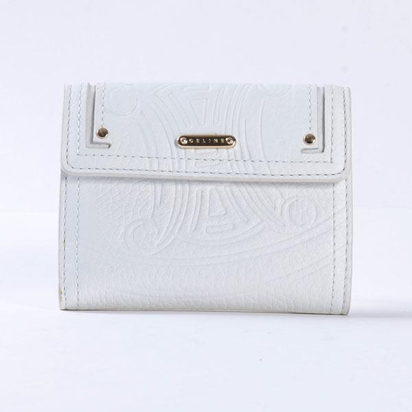 セリーヌ CELINE Wホック式財布 107493NGR 中古B品