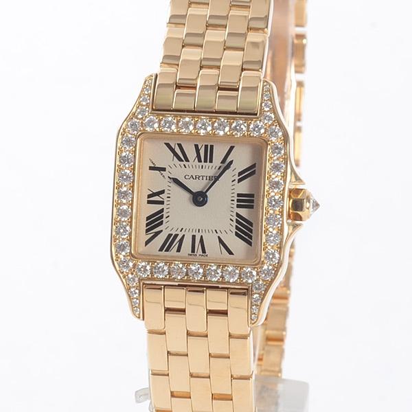 カルティエ Cartier サントスドゥモワゼル SM WF9001Y7 中古A品