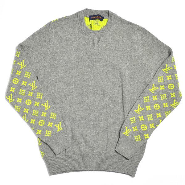 ルイヴィトン LOUISVUITTON ネオンモノグラムバックカシミヤセーター 未使用品