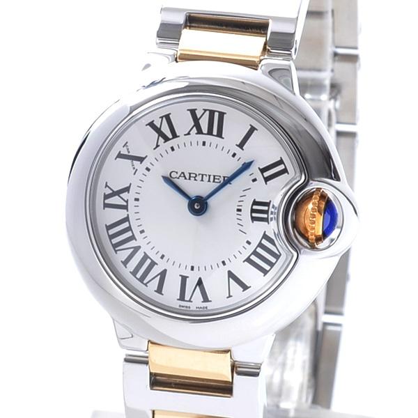 カルティエ Cartier バロンブルーSM W69007Z3 中古A品