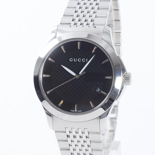 グッチ GUCCI メンズ腕時計 YA126402 中古A品