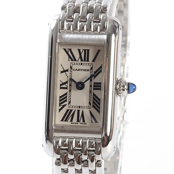 カルティエ Cartier タンクアロンジェ W15329U3 中古A品