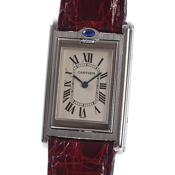 カルティエ Cartier タンクバスキュラント W1011158 中古A品
