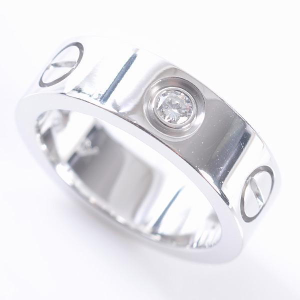 カルティエ Cartier ラブリング B4032547 中古A品