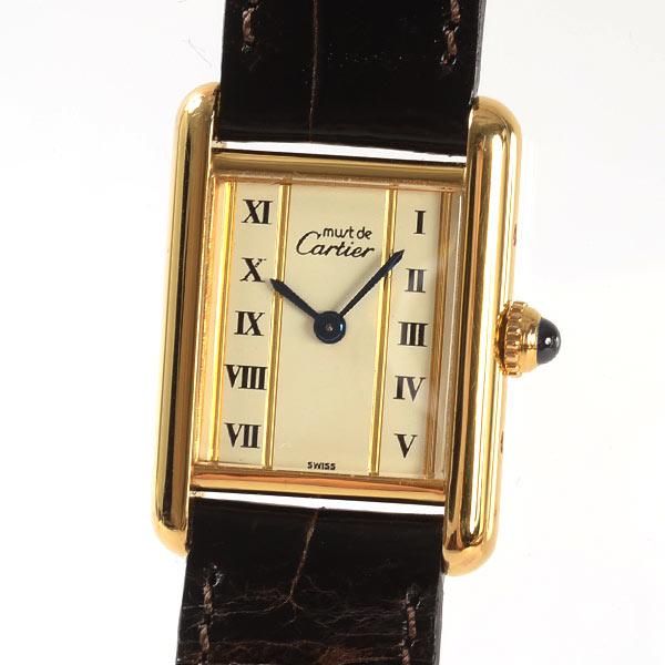 カルティエ Cartier マストタンク 中古A品