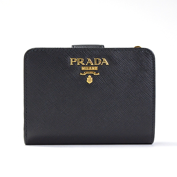 プラダ PRADA 2つ折り式財布 1ML018 未使用品