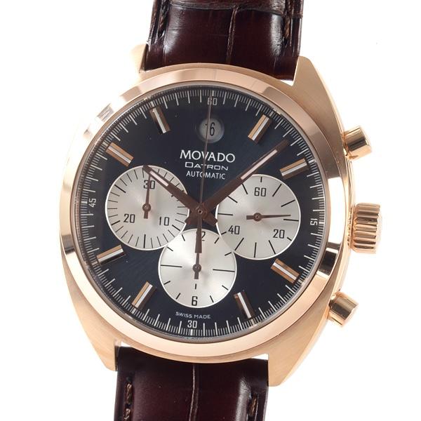 モヴァード MOVADO メンズ腕時計 18 1 52 1084 中古A品