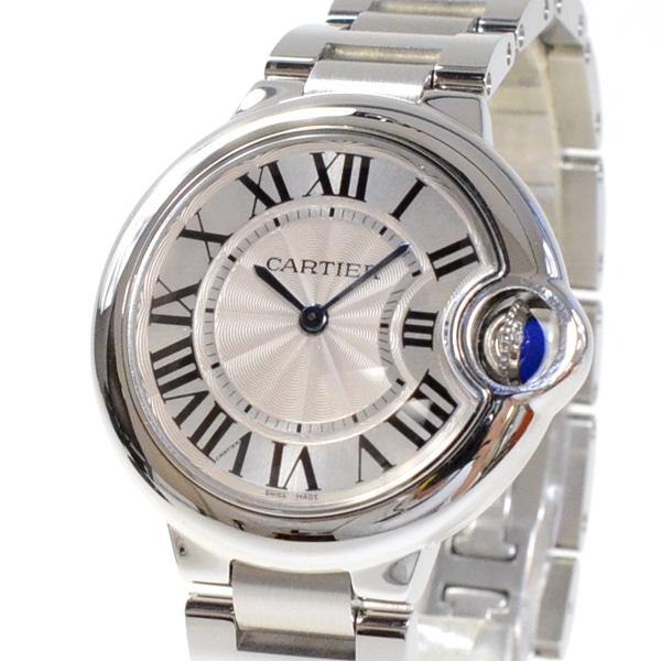 カルティエ Cartier バロンブルー33mm W6920084 中古A品