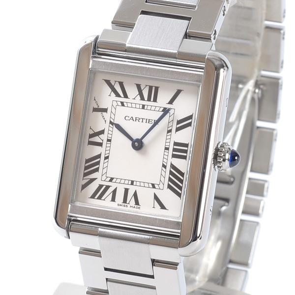 カルティエ Cartier タンクソロSM W5200013 中古A品
