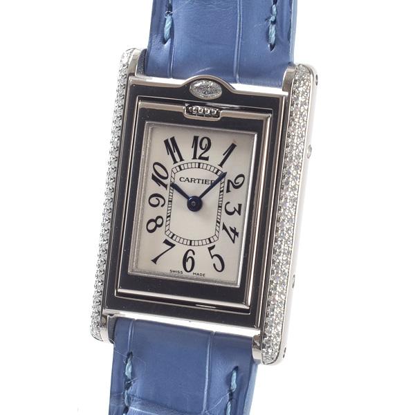 カルティエ Cartier タンクバスキュラントSM WA202751 中古A品