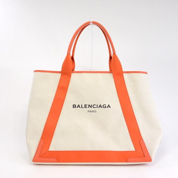 バレンシアガ BALENCIAGA ネイビーカバスM 339936 未使用品