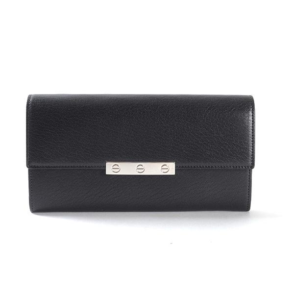 カルティエ Cartier 2つ折り式長財布 L3001299 中古A品