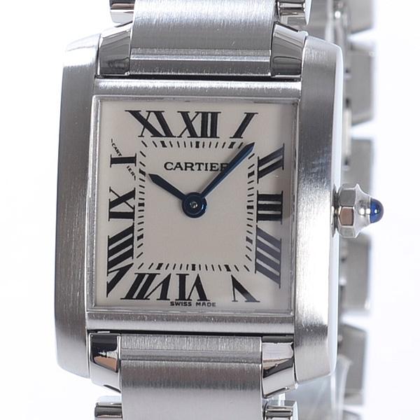 カルティエ Cartier タンクフランセーズ W51008Q3 中古A品