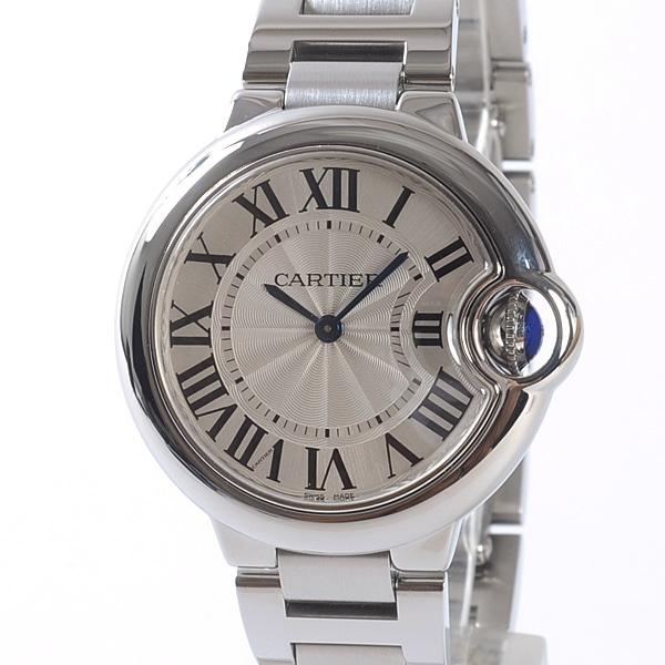 カルティエ Cartier バロンブルーMM W6920084 中古A品