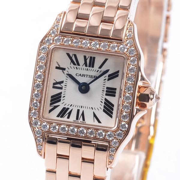 カルティエ Cartier ミニサントスドゥモワゼル WF9011Z8 中古A品