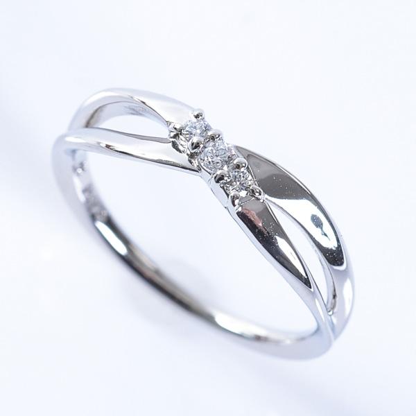 ヨンドシー 4℃ ダイヤモンドリング 中古A品