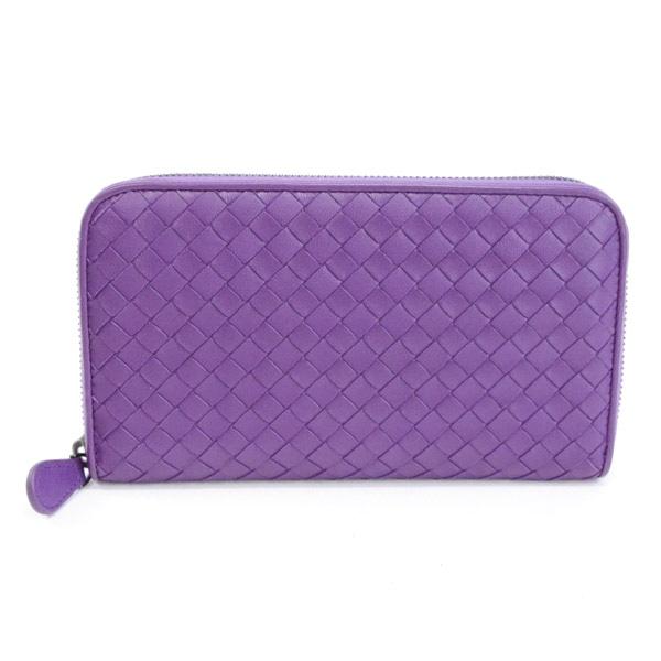 ボッテガヴェネタ BOTTEGA VENETA ラウンドファスナー式財布 未使用品