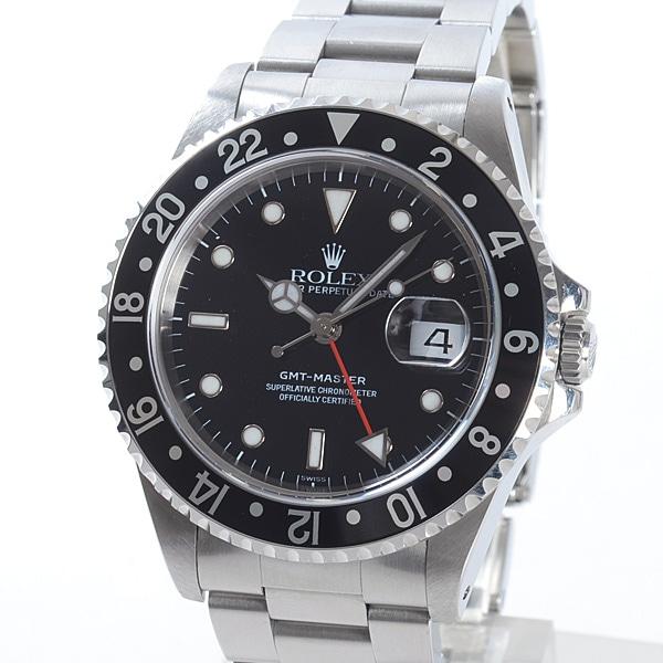 ロレックス ROLEX GMTマスター 16700BK/BK 中古A品