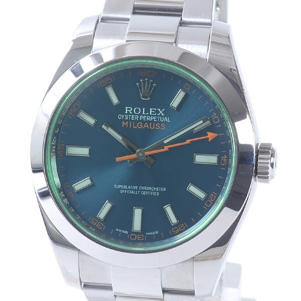 ロレックス ROLEX ミルガウス 116400GV 中古A品