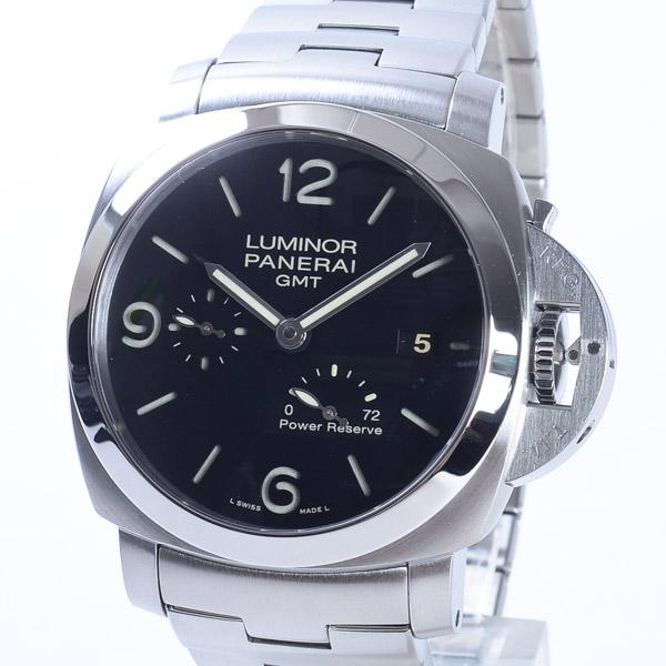 パネライ PANERAI ルミノール1950 3DAYS GMT パワーリザーブ PAM00347 中古A品