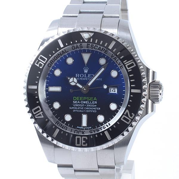 ロレックス ROLEX ディープシー Dブルー 116660 D-BLUE 中古A品