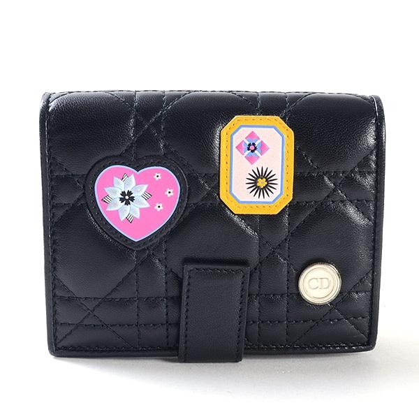 ディオール Dior 2つ折り式財布 中古a品