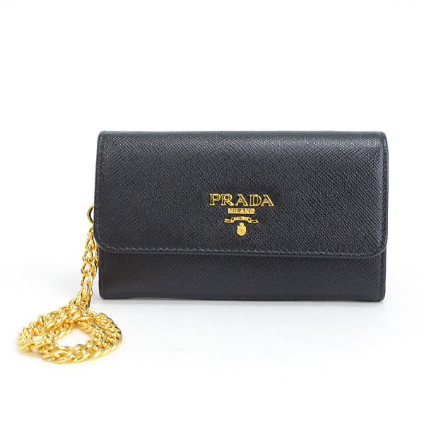 プラダ PRADA カードケース 中古A品
