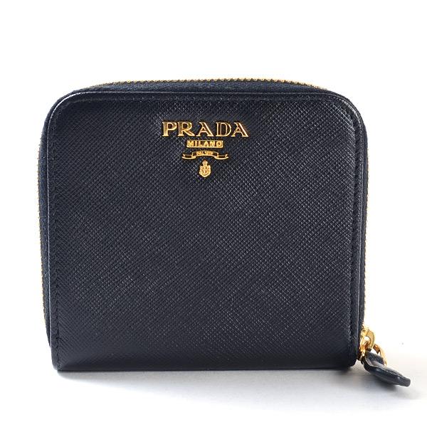 プラダ PRADA コンパクト財布 1ML522 未使用品