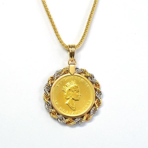 ノンブランドジュエリー メープルコイン 中古A品