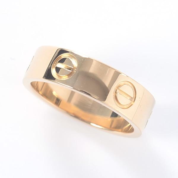 カルティエ Cartier ラブリング B4084652 中古A品