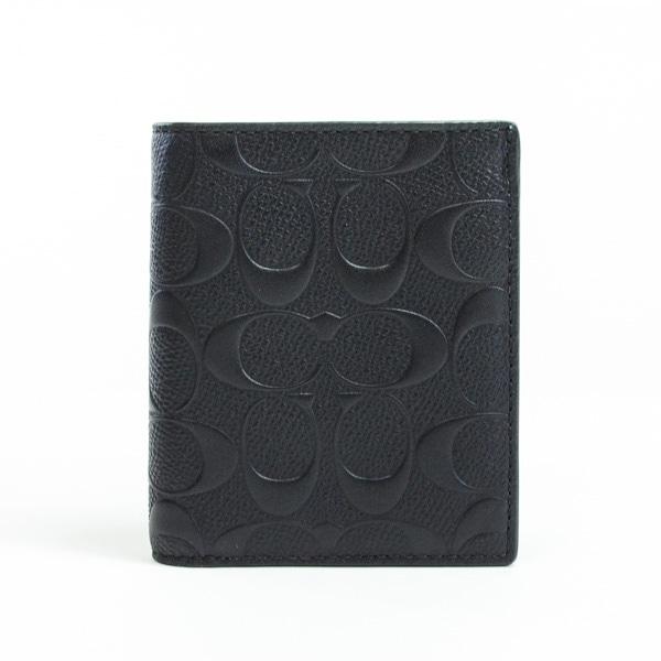 コーチ COACH 2つ折り式財布 F11070 中古a品