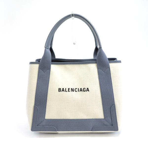 バレンシアガ BALENCIAGA ネイビーカバス 339933 未使用品