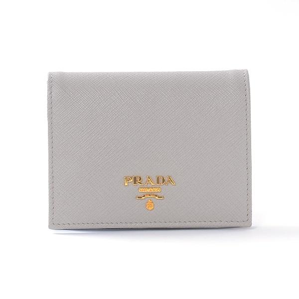 プラダ PRADA 二つ折財布 1MV204 中古A品