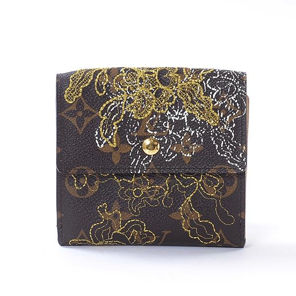 ルイヴィトン LOUISVUITTON Wホック式財布 M95395 中古A品