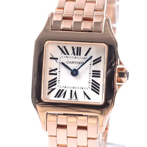 カルティエ Cartier サントス ドゥモワゼル SM W25073X9 中古A品