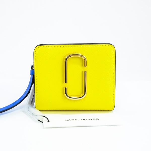 マークバイマークジェイコブス MARC BY MARCJ. 2つ折り式コンパクト財布 M0013360 未使用品