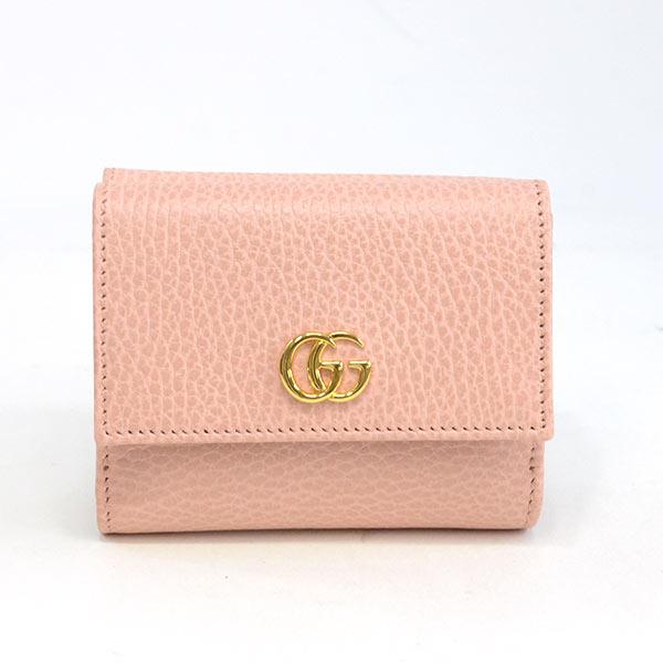 グッチ GUCCI 3つ折り式コンパクト財布 524672 未使用品