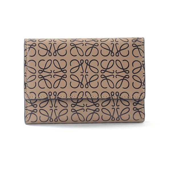 ロエベ LOEWE 3つ折り式財布 107.55.GS97 中古A品
