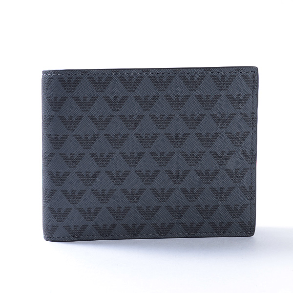 エンポリオアルマーニ Emporio Armani 2つ折り式財布 Y4M065 未使用品