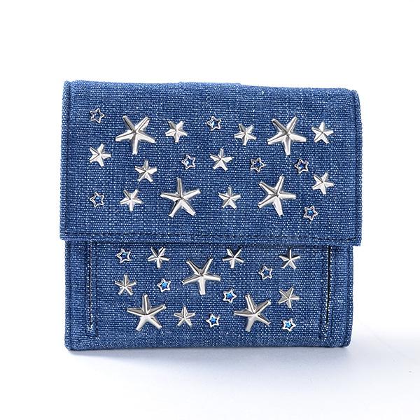 ジミーチュー JIMMY CHOO Wホック式財布 未使用品