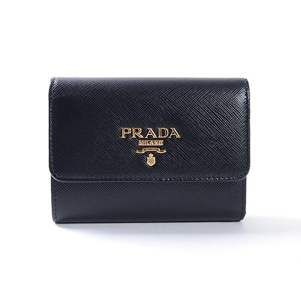 プラダ PRADA 三つ折財布 1MH840 未使用品