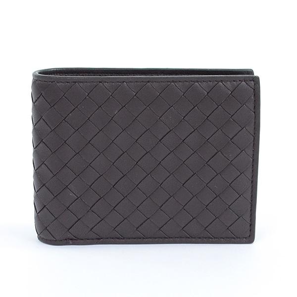 ボッテガヴェネタ BOTTEGA VENETA 2つ折り式財布 未使用品