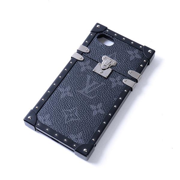 ルイヴィトン LOUISVUITTON アイトランク iPhone7ケース M64489 中古A品