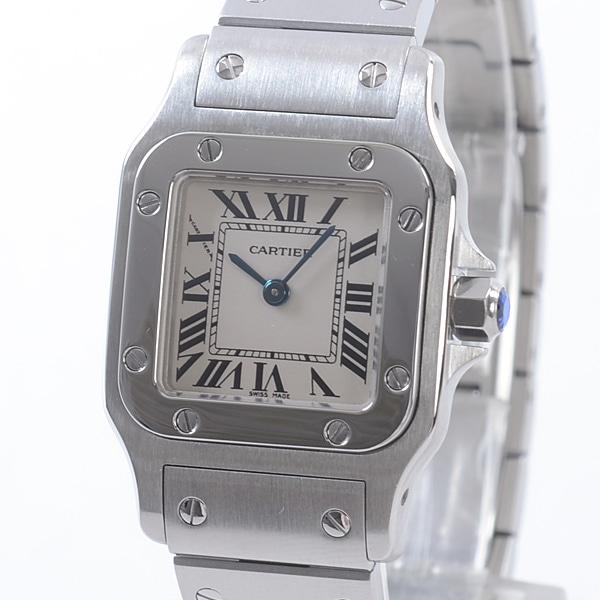 カルティエ Cartier サントスガルベ W20056D6 中古A品