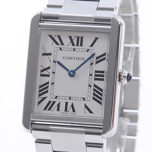 カルティエ Cartier タンク ソロ ウォッチLM W5200014 中古A品
