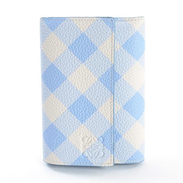 ロエベ LOEWE 3つ折り式コンパクト財布 中古a品