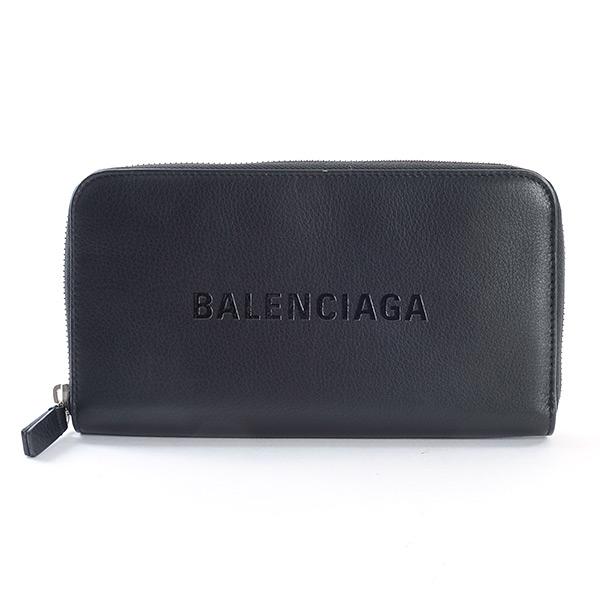 バレンシアガ BALENCIAGA ラウンドファスナー式財布 505052 中古A品