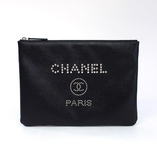 シャネル CHANEL クラッチ A80802 中古A品